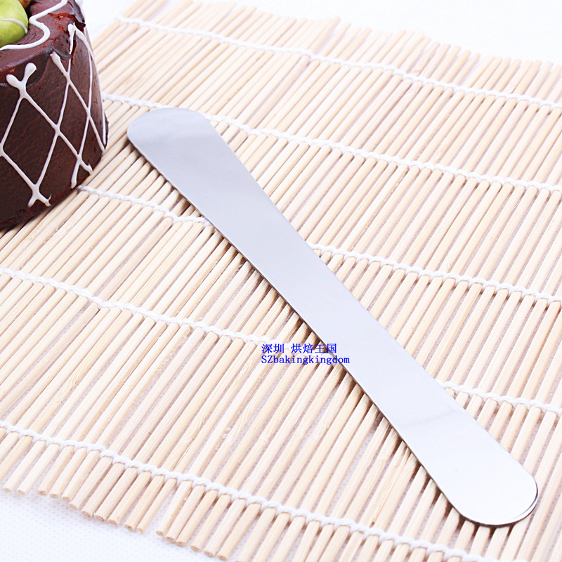 Baking tool stainless steel Stripping knife scraper stick cake tool Scraper Cutting Blade Butter Spreader Cake Decorating Tools in Baking Pastry Spatulas from Home Garden