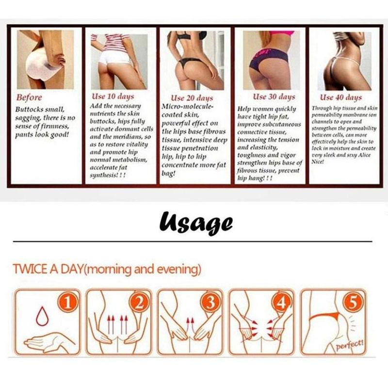1Pc Hip Lift Up Buttock Enhancement Massage Oil Essential Oil Cream Ass Liftting Up Sexy Lady Hip Lift Up Butt Buttock Enhance25 in Essential Oil from Beauty Health