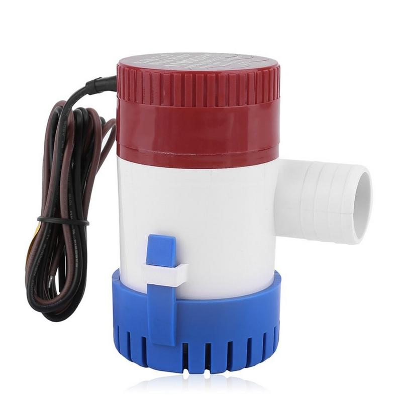 Image 5 - Professional 3.0A 1100 GPH 12V Submersible Boat Electric Bilge Pump 1 1/8 Inch Outlet For Boat Bilge Pump-in Marine Pump from Automobiles & Motorcycles