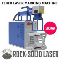 30W Fiber Laser Metal Marking Machine Handheld Laser Marker with Z Axis Worktable Laser Engraving Machine Engraver Wholesale
