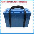 1000 Вт Lifepo4 12В 120ач батарея 12В lifepo4 Ebike UPS батарея с 14 6 в 10А зарядное устройство Бесплатная таможенная пошлина