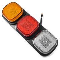 24V 87 LED Tail Light Truck Trailer Rear Indicator Lamp Stop Reverse Light