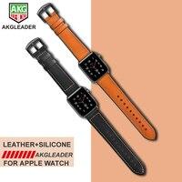 Saatler'ten Saat kayışları'de Yeni 38mm 42mm saat kayışı Için Apple Serisi 1 2 3 Bilek Kayışı Hakiki Deri sıkılaştırma bandı Için Apple Izle serisi 1 2 3 iwatch