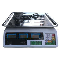 30KG/40KG Electronic Price Computing Scale Food Meat Fruit Weight Scale Counting Equipment With LCD Battery for Stores Shops