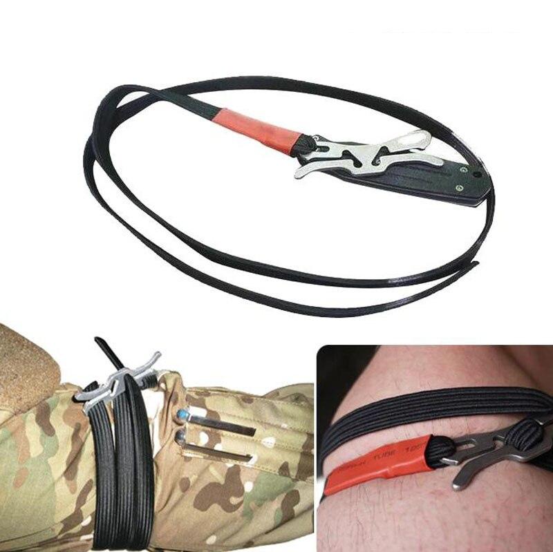 Tourniquet Rescue Outdoor-Belt First-Emergent-Kit Survive Medical Military Trauma Camp