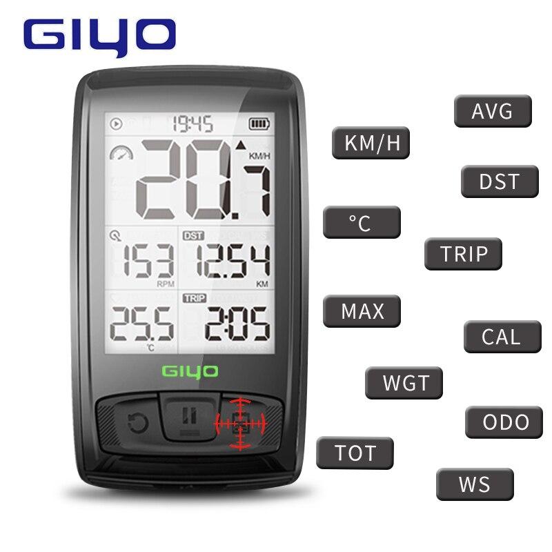4.0 Vélo Compteur de Vitesse Étanche Sans Fil Bluetooth/Cadence Capteur Moniteur de Fréquence Cardiaque Ordinateur De Vélo Pour Le Vélo