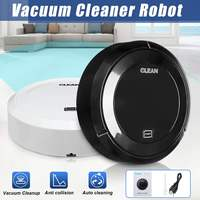 Mini Full Smart Cleaning Robot Automatic Wireless Induction Household Floor Dirt Dust Hair Rechargeable Vacuum Cleaner Machine