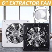 6 Inch Ducted Exhaust Fan 220V Ceiling Window Booster Fan Plastic Waterproof Ventilation Pipe Fan Exhaust Bathroom Kitchen Fan