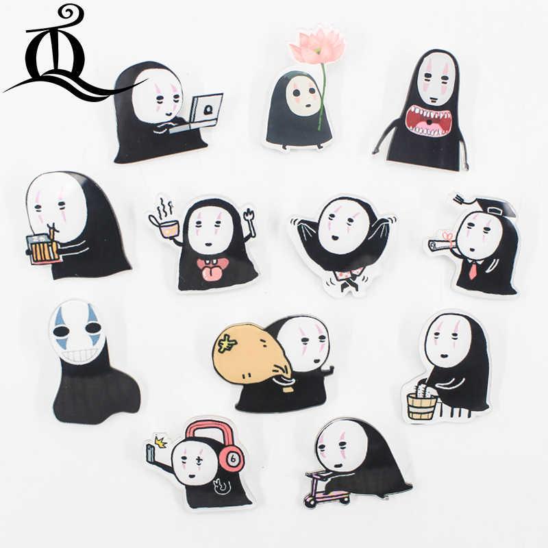 1 PCS DELLA MISCELA di Halloween della ragazza Del Fumetto di Icone sul Spille Kawaii Icona Distintivo Bacges su Zaino Distintivi e Simboli per Abbigliamento Acrilico distintivi e Simboli Z26