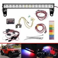 Hot Sell 1/10 RC Car Front And Rear Led Light System Set For 1/10 RC Crawler Car TRX4 for Ford Bronco Ranger