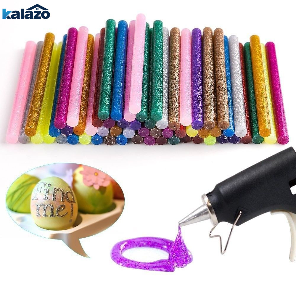 60Pcs/lot 12 Colors Hot Melt Glue Gun Sticks For Handmade Card Album Making DIY Art Craft Supplies Home Decor