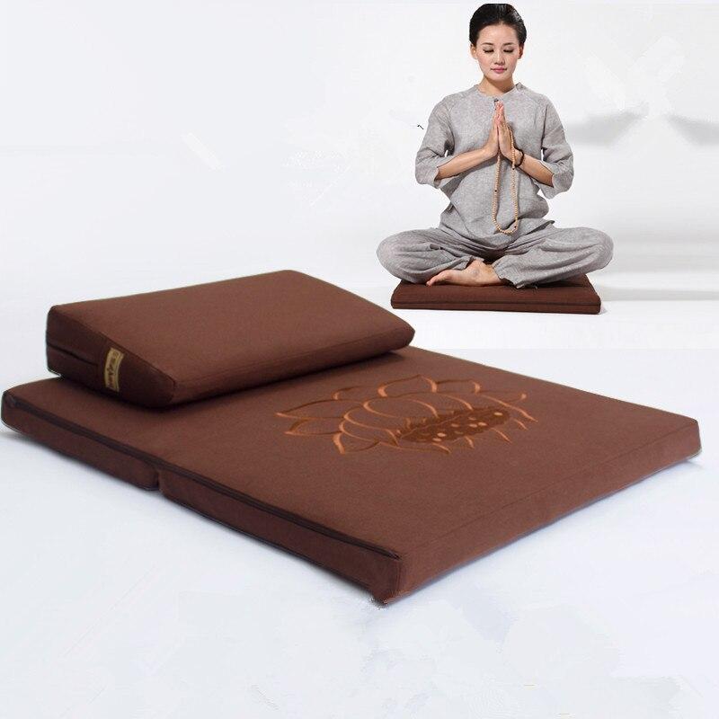 Di Carattere Dolce Deluxe Zafu E Zabuton 2 Piece Set-yoga/meditazione Cuscini Piazza 60/70/80 Centimetri Giapponese Zafu Cuscino Pavimento Di Loto Meditazione Pacchetto Elegante E Robusto