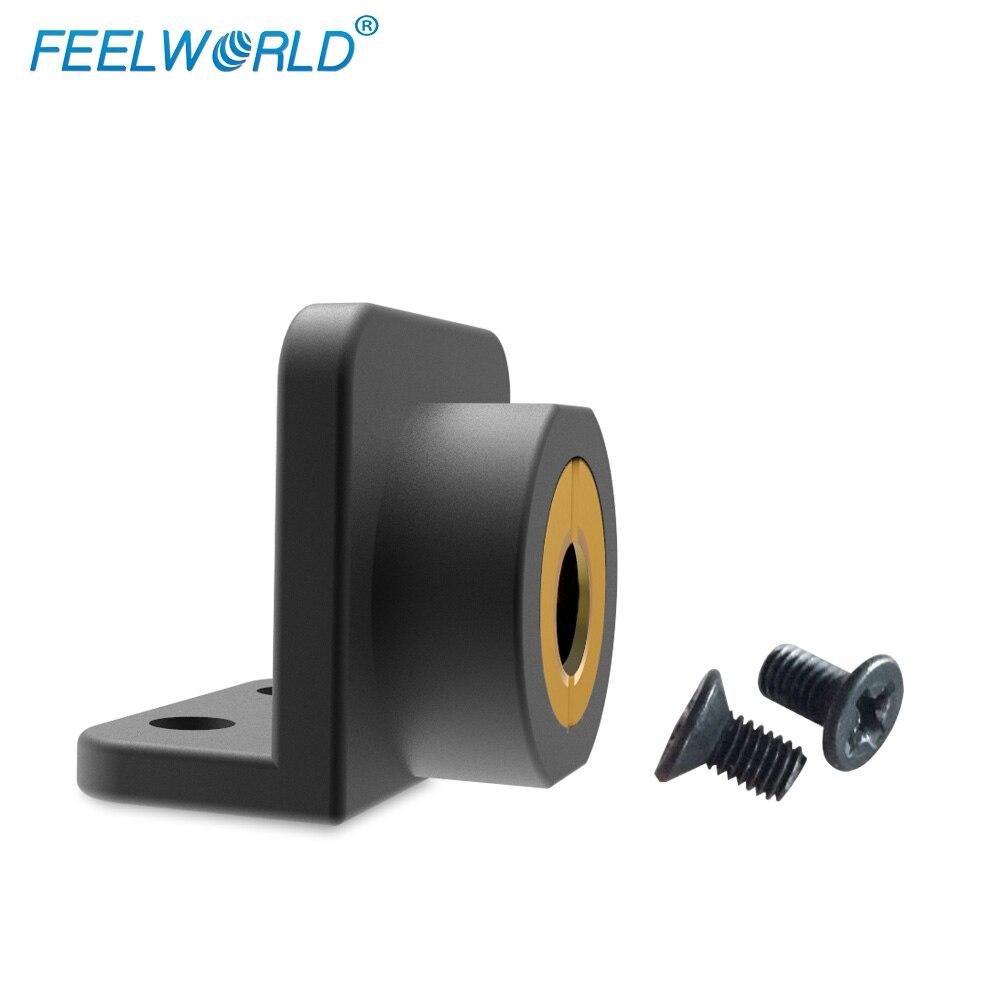 Feelworld 1/4 Cal śruba blokada zamontować punktów dla Feelworld F450 F550 F570 FW450 itp kamera monitor zewnętrzny stabilizator gimbal platformy