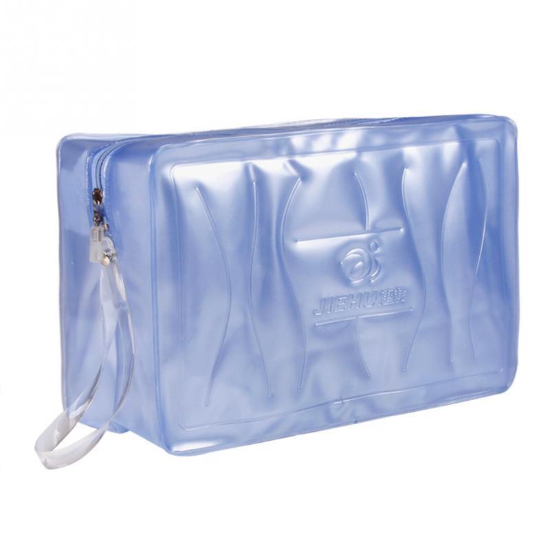 Hot Sale Transparent Waterproof Bag PVC Organizer Sack Swimsuit Wash Gargle Storage Pool Beach Bags Swimming Gym Bag Handbags~