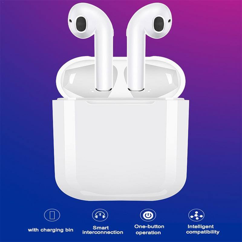 I9S TWS Wireless Earphone Portable Bluetooth Headset Invisible Earbud For iPhone Xs Max Xr X 8 7 6 Plus For Xiaomi Mobile Phone
