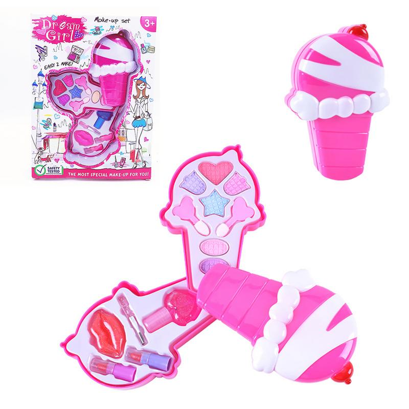 Baby Girls Pretend Play Safe Kids Girls Makeup Kit Toy Cosmetics Play Sets The Latest Fashion Beauty & Fashion Toys Toys & Hobbies