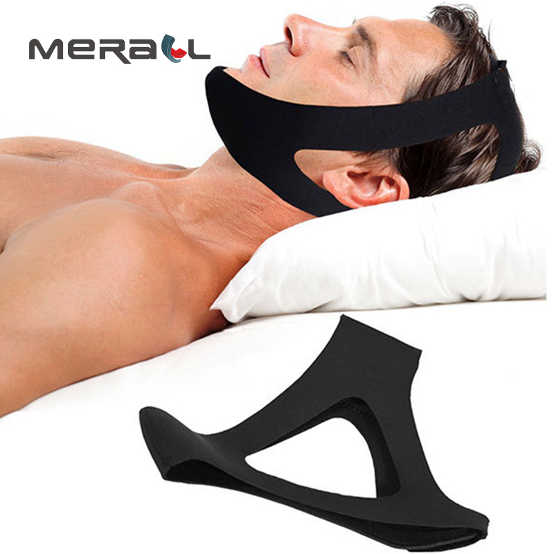 Anti Snoring Belt Triangular Chin Strap Mouth Guard Gifts For Women Men Better Breath Health Snore Stopper Bandage Dropshipping