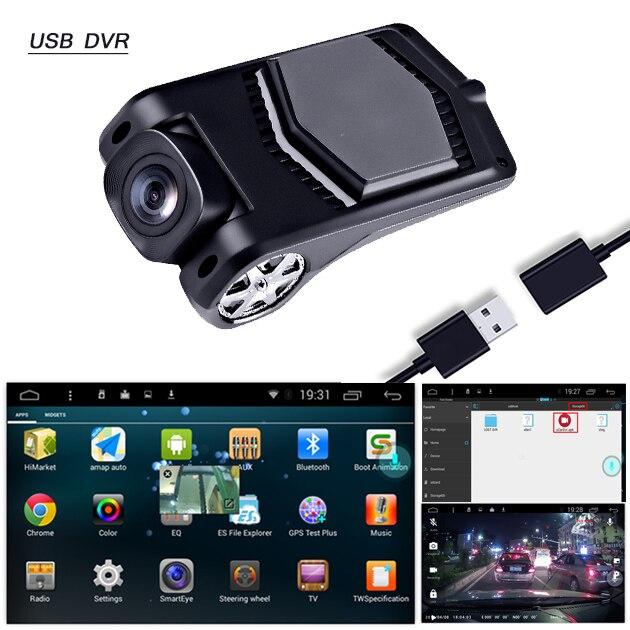 Car-Dvr-Camera Video-Recorder Dash-Cam G-Sensor ADAS Mini New 1080P USB Picture-In-Picture