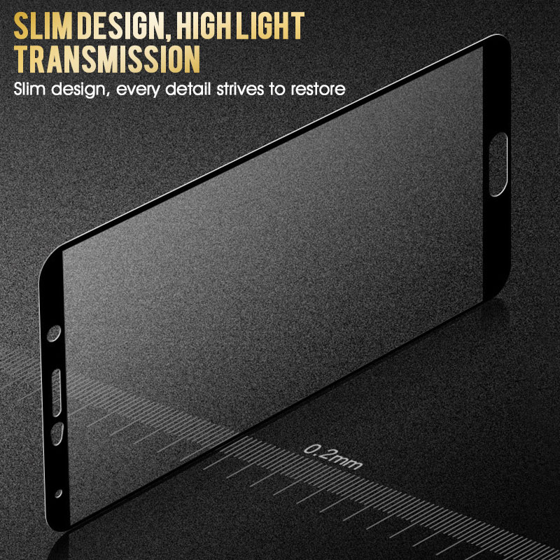 Image 5 - 15D Protective Glass On The For Huawei Mate 8 9 10 20 Lite Tempered Screen Protector For P20 P10 Lite Plus P20 Pro Glass Film-in Phone Screen Protectors from Cellphones & Telecommunications