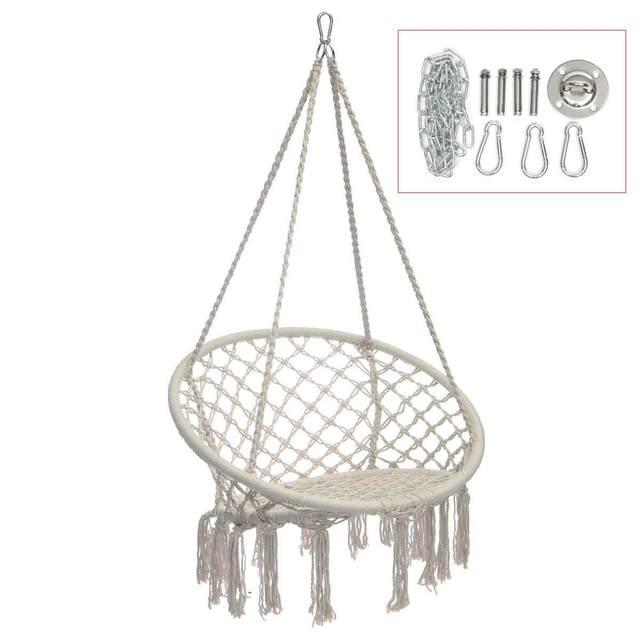 Swinging Outdoor Hammock Chair 4