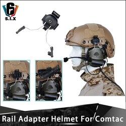 Z TAC Rail Adapter kask taktyczny Peltor zestaw słuchawkowy do montażu słuchawek Adapter do COMTAC I COMTAC II Z Tac Adapter|Taktyczne zestawy słuchawkowe i akcesoria|Sport i rozrywka -