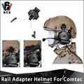 Z TAC Schiene Adapter Helm Tactical Peltor Headset Montieren Kopfhörer Adapter Für COMTAC ICH COMTAC II Z Tac Adapter-in Taktische Kopfhörer und Zubehör aus Sport und Unterhaltung bei