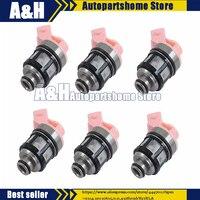 6 шт. топливный инжектор 16600 88G00 16600 88G01 16600 88G10 16600 88G11 1660088G10 1660088G11 для Nissan D21 Pathfinder Quest