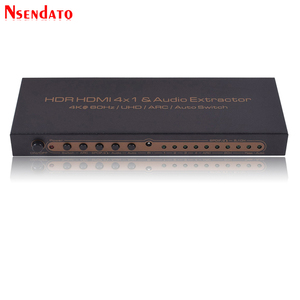 Image 3 - 4K*2K HDR HDMI Matrix 4X1 4k HDMI Switch Splitter Audio Extractor For DTS Dolby ARC SPDIF 4 In 1 Out HDMI Converter For PS3/PS4