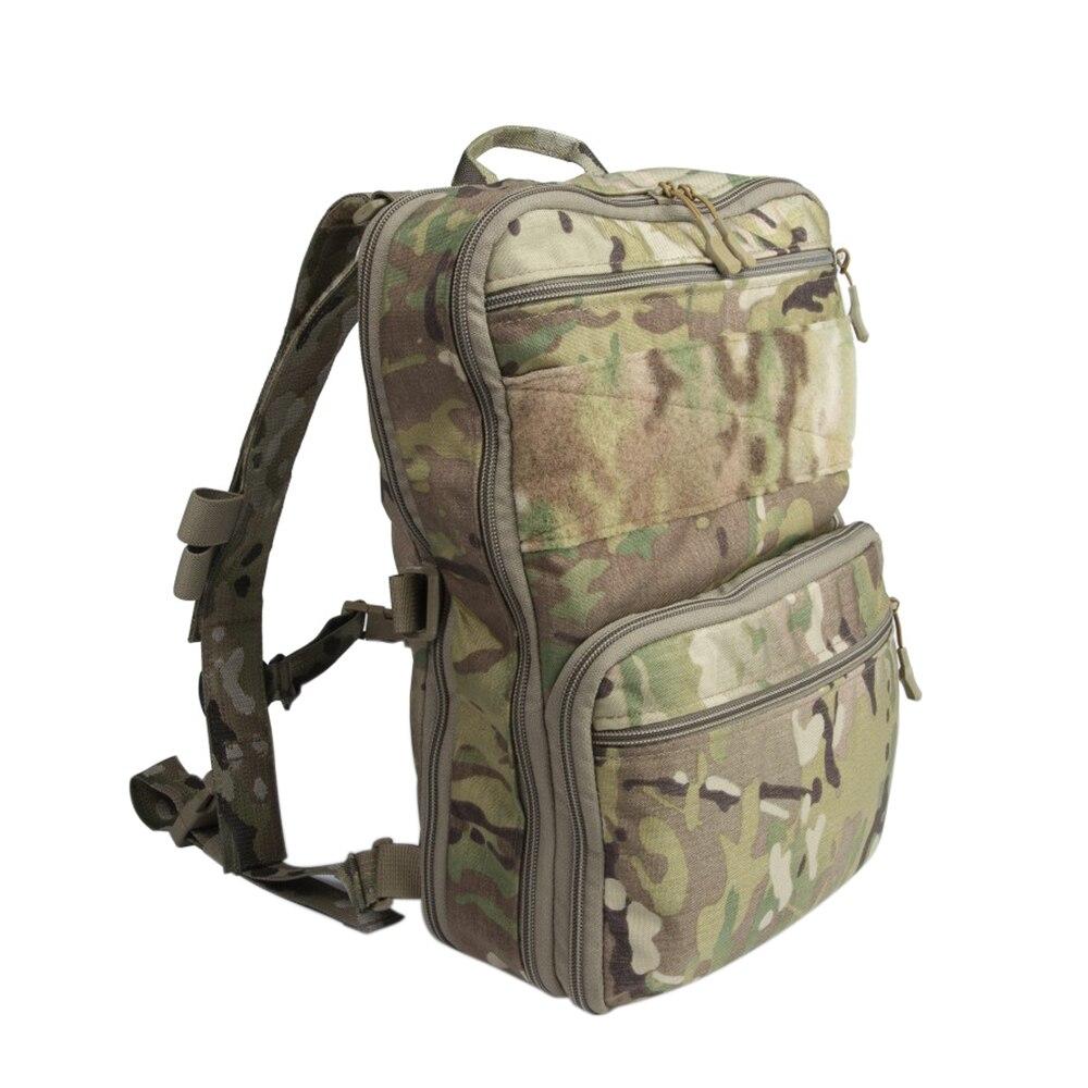 Sac à dos tactique D3 Flatpack sac à dos d'hydratation sac de voyage polyvalent sac à eau de voyage sac à dos tactique militaire de chasse