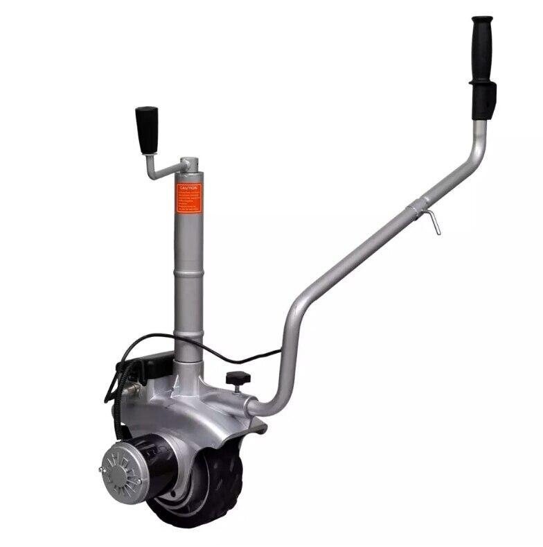 Motorizzata alluminio Jockey Ruota Rimorchio Mover 12 V 350 WMotorizzata alluminio Jockey Ruota Rimorchio Mover 12 V 350 W