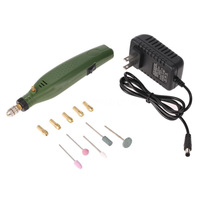 UNS stecker 110 230V Elektrische Schleifen Eingestellt Dreh Bohrer Grinder Werkzeug Gravur Kit|Elektrische Kaffeemühlen|   -