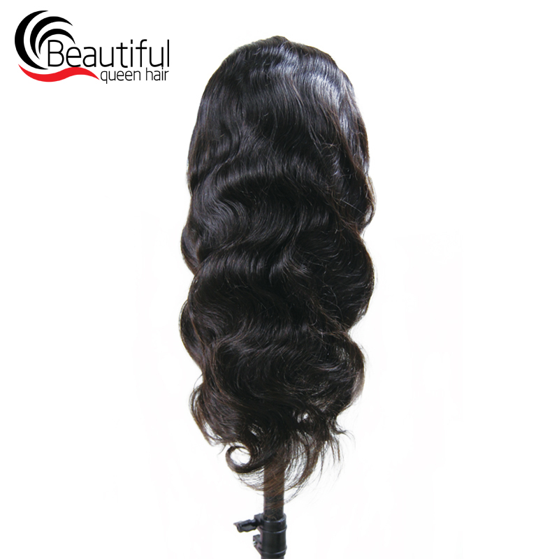 10A Transparent Full Lace Wigs Peruvian Virgin Human Hair Body Wave Glueless Wig Pre Plucked With Baby Hair 12-26 Inch For Women(China)