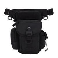 Outdoor Sports Cycling Waterproof Waist Pack Multifunction Crossbody Bag Fashion Bumbag Bags for Men Women (Black)