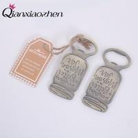 Qianxiaozhen 100pcs Beer Bottle Opener Wedding Favors And Gifts Wedding Gifts For Guests Wedding Souvenirs Party Supplies