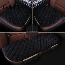 3 PCS Car Seat Cover Winter Goods Accessories Cushion Pad Mats Non-Slip Auto Protectors Universal Size