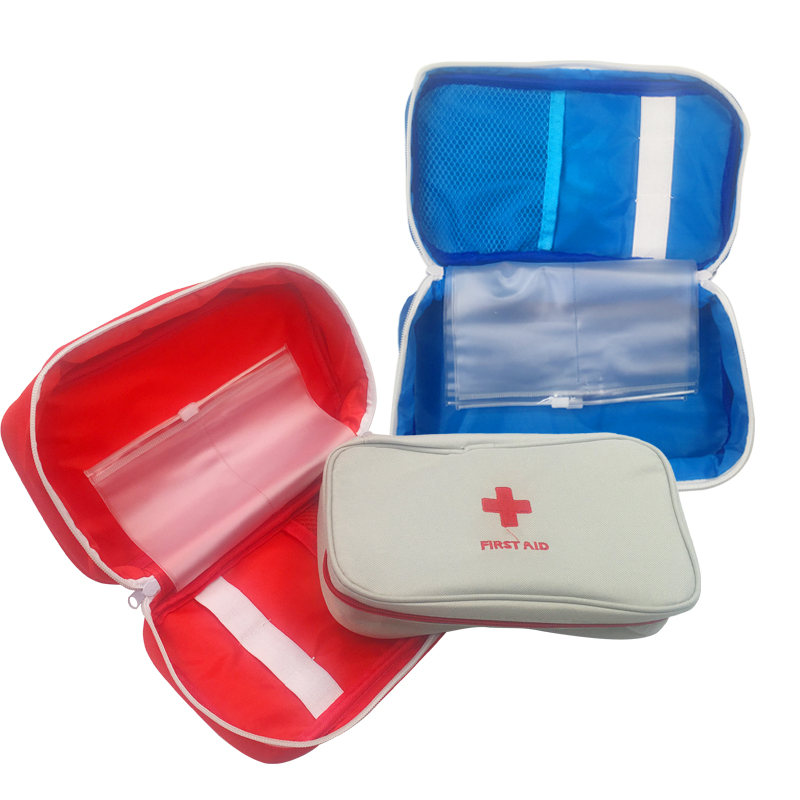 Empty Large First Aid Kit Emergency Medical Box Portable Travel Outdoor Camping Survival Medical Bag Big Capacity Home/Car