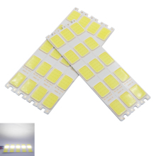 купить 2018 new 12v dc 151mm 16.5mm led cob strip bulb light cold white daytime running light cob led strip source for auto DIY light дешево