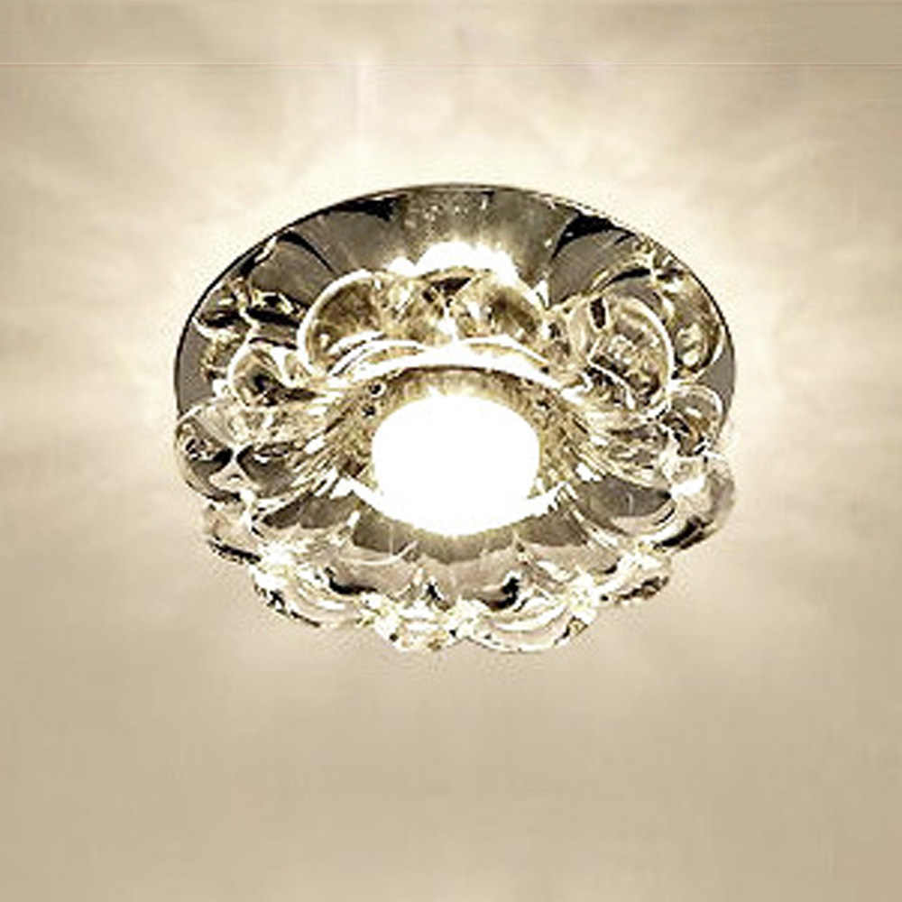 LED Ceiling Lamp Crystal Light for Corridor Porch Balcony Hallway Living Room