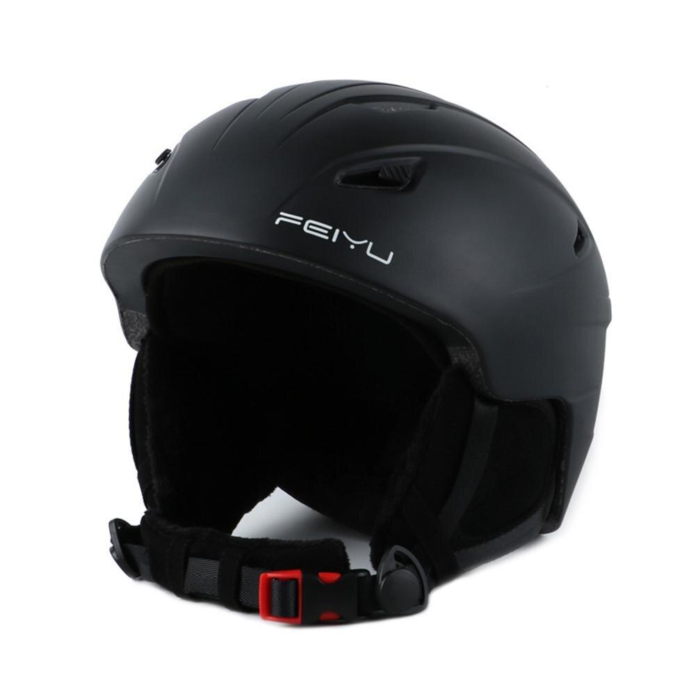 Casque de Ski professionnel unisexe Mounchain casque de neige forme intégrée casque d'extérieur