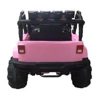 12V Kids Ride On Car SUV MP3 RC Remote Control LED Lights Pink US Warehouse Directly Shipping 7 10 Days Delivery