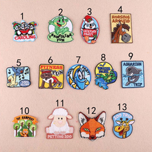 Small Animal World zoo trip Clothing Decoration Patch