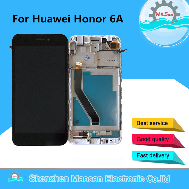 M&Sen For 5.0 Huawei Honor 6A DLI-TL20 DLI-AL10 LCD Screen Display Touch Panel Digitizer Frame For Honor 6A Assembly LcdM&Sen For 5.0 Huawei Honor 6A DLI-TL20 DLI-AL10 LCD Screen Display Touch Panel Digitizer Frame For Honor 6A Assembly Lcd