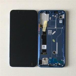 """Image 5 - Ban Đầu Axisinternational 6.21 """"Dành Cho Xiaomi Mi8 Mi 8 Mi8 Supor AMOLED Màn Hình LCD + Bảng Điều Khiển Cảm Ứng Bộ Số Hóa Với khung + Dụng Cụ"""