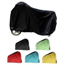 Водонепроницаемый защитный чехол от дождя и пыли для велосипеда и велоспорта с отверстием для замка