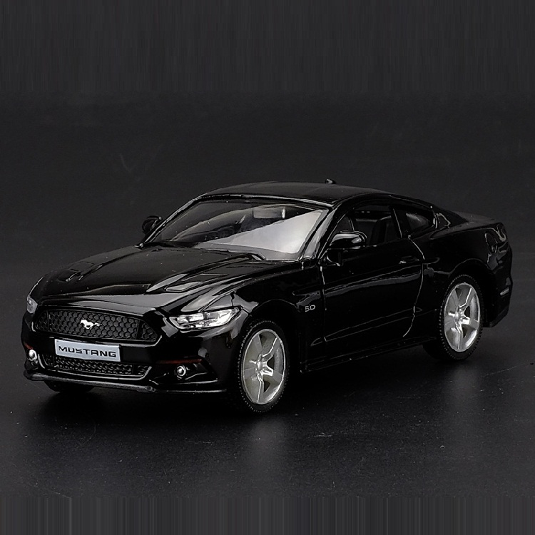 High Simulation Exquisite Die-casts&Toy Vehicles: RMZ City Car Styling 2015 Ford Mustang GT 1:36 Alloy Car Model Pull Back Cars