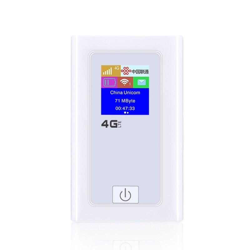 HOT-4G Wifi routeur voiture Hotspot Mobile sans fil haut débit poche Mifi déverrouiller Lte Modem sans fil Wifi Extender répéteur Mini Rou