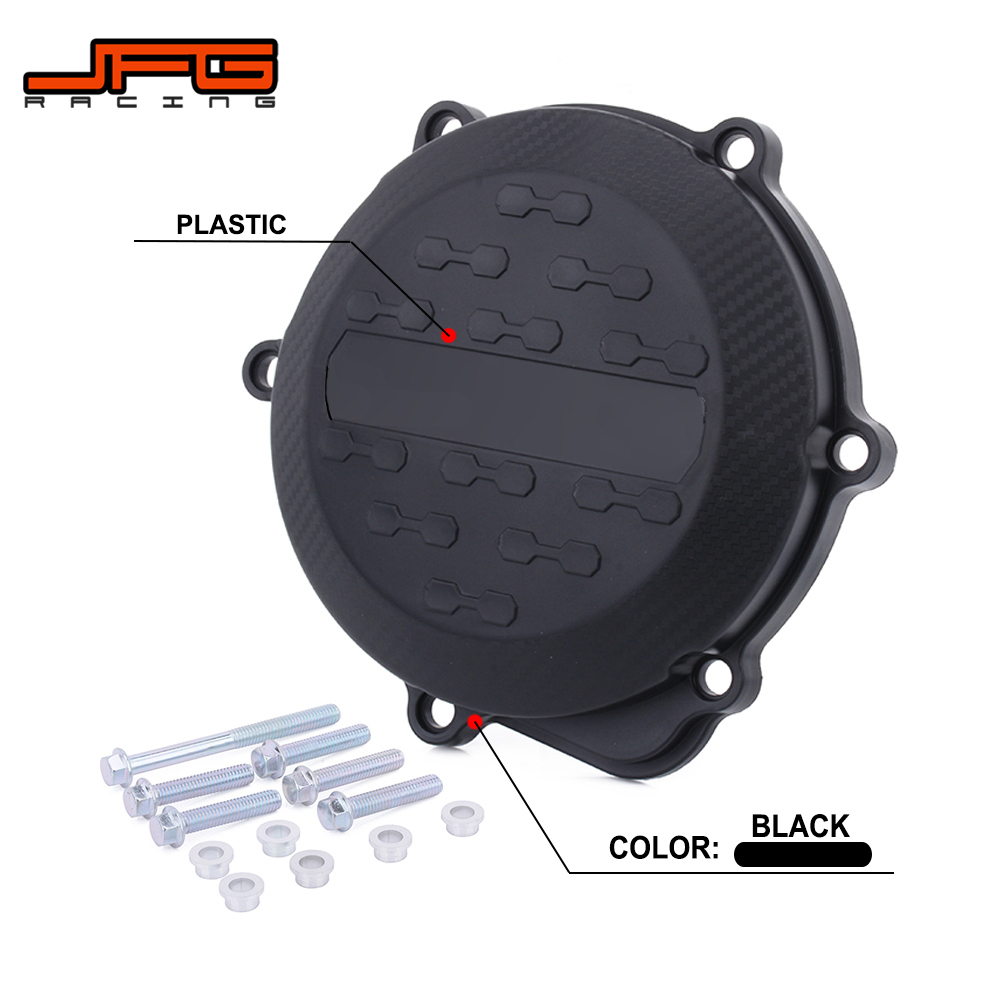Motorcycle Plastic Clutch Cover Guard Protector For HONDA CRF250 <font><b>CRF</b></font> 250 2010 2011 <font><b>2012</b></font> 2013 2014 2015 2016 2017 Dirt Bike image
