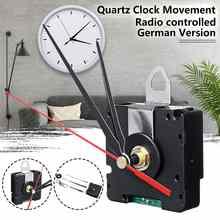 Reloj de cuarzo versión alemana DCF, cronómetro solo para la región europea, movimiento controlado por radio, para Europa, HR9624