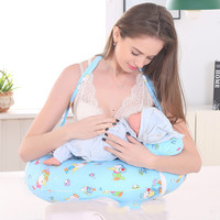 Breastfeeding Cushion Breastfeeding Pillows Baby Head Protection Nursing Pillow U Shaped Infant Cuddle Pillow toy