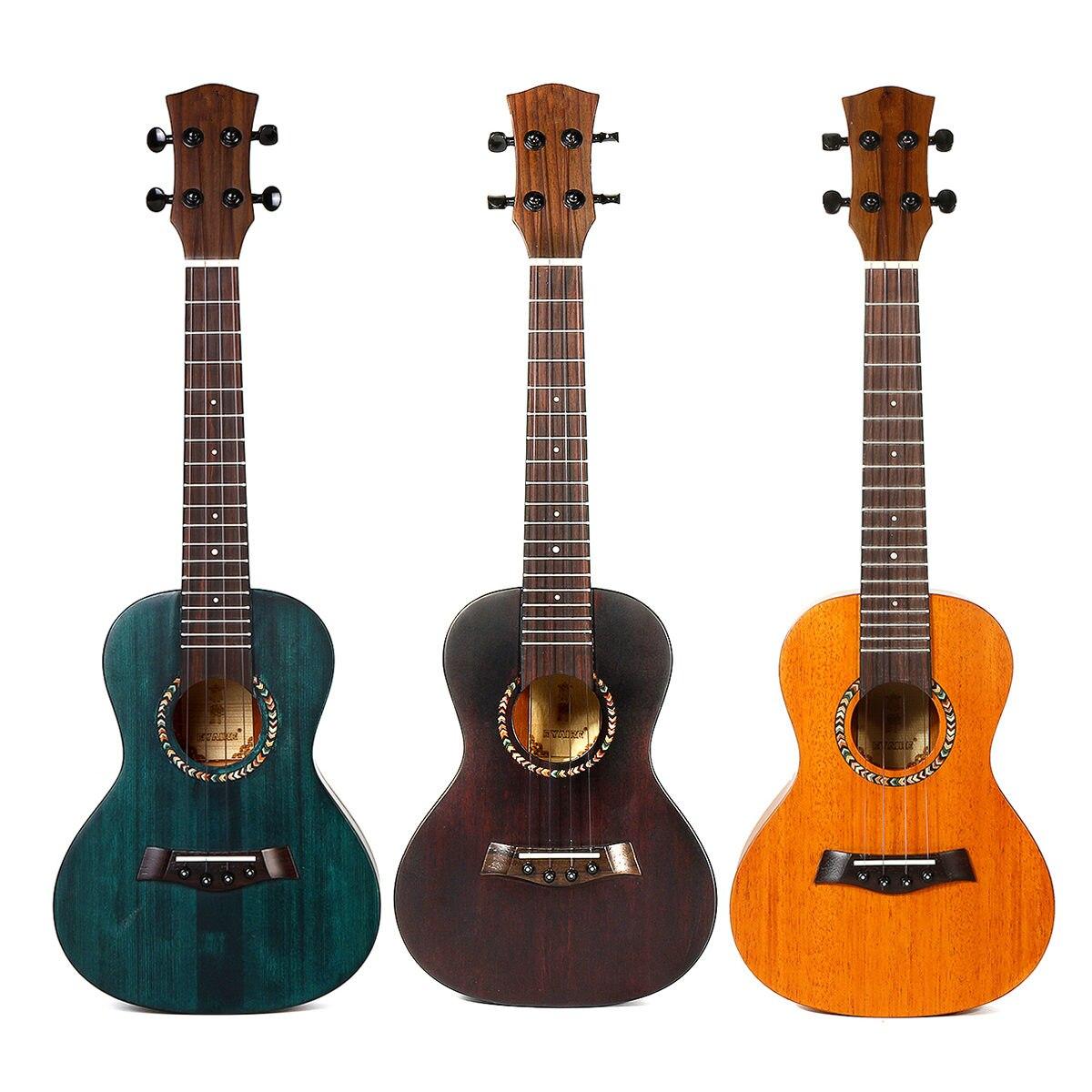 23 pouces 4 cordes ukulélé hawaïen Mini guitare guitare acoustique acajou Ukelele guitare avec sac Instrument de musique cadeau